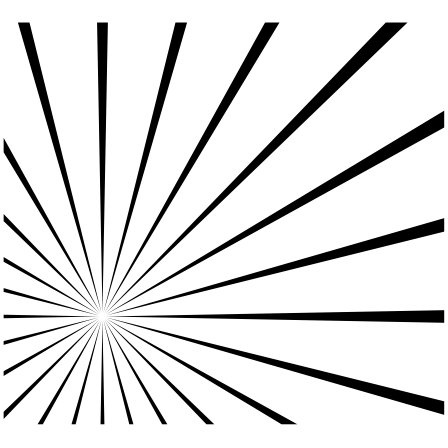 Naklejka jednokolorowa - abstrakcja 01