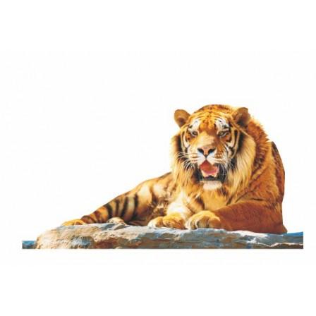 Naklejka Drukowana lew