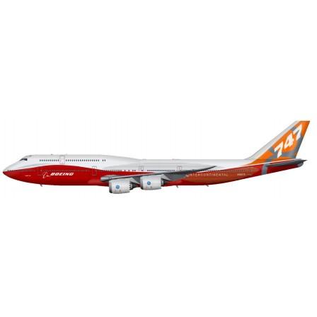 Naklejka Drukowana samolot czerwony