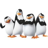 Naklejka Drukowana pingwiny
