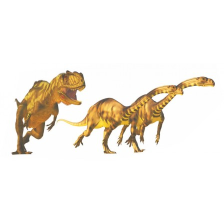 Naklejka Drukowana dinozaury