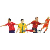 Naklejka Drukowana  piłkarze