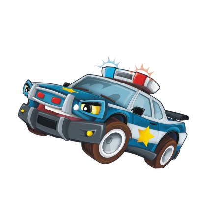 Naklejka Drukowana   wóz policyjny
