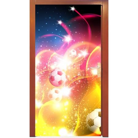 Naklejka na drzwi - abstrakcja01