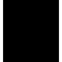 Naklejka jednokolorowa  płonące drzewo