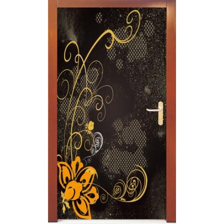 Naklejka na drzwi - abstrakcja03