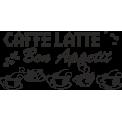 Naklejka jednokolorowa coffe latte