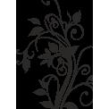 Naklejka jednokolorowa roślinka