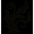 Naklejka jednokolorowa roślinka 01