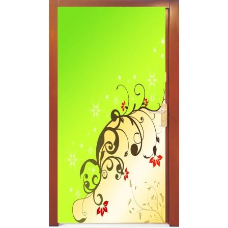 Naklejka na drzwi - abstrakcja04