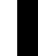 Naklejka jednokolorowa   kościotrup 02