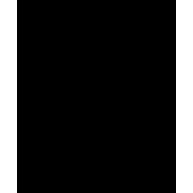 Naklejka jednokolorowa   kościotrup 08