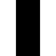 Naklejka jednokolorowa   kościotrup 09