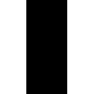 Naklejka jednokolorowa   kościotrup 10