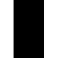 Naklejka jednokolorowa   kościotrup 13