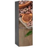 Naklejka na lodówkę - ziarno kakaowe