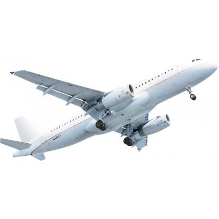 Naklejka Drukowana Samolot w chmurach