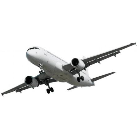 Naklejka Drukowana lecący samolot