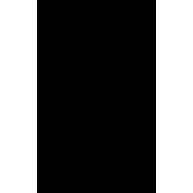 Naklejka jednokolorowa - pirat 01