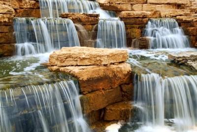 Wodospad wodospady kamienie natura widoki