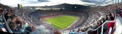 Stadion piłkarski kibice mecz piłki nożnej