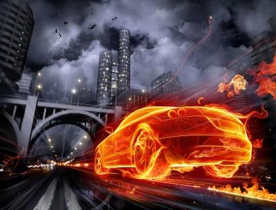 Samochód most
