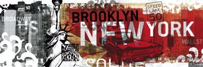 New York Brooklyn Wallst Broadway US