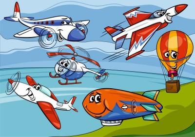 Lecące samoloty