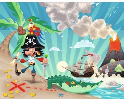 Pirat z wulkanem
