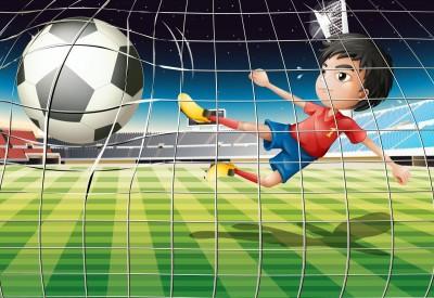 Piłkarz , chłopiec