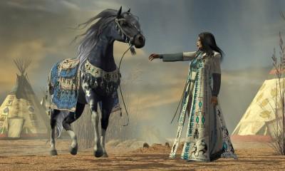 czarnoksiężnik , czarny koń