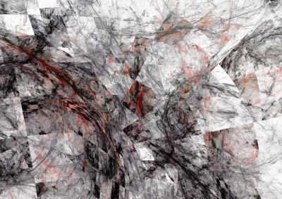 Abstrakcje iluzja mazy 3d