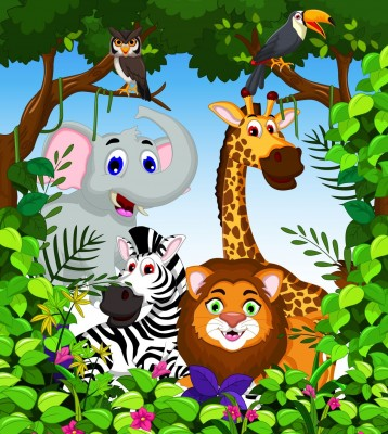 Zwierzęta , afryka, żyrafa