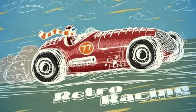samochód, wyścigówka