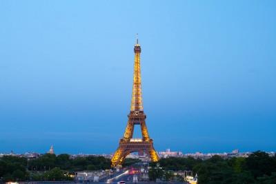 Wieża Eiffla widok