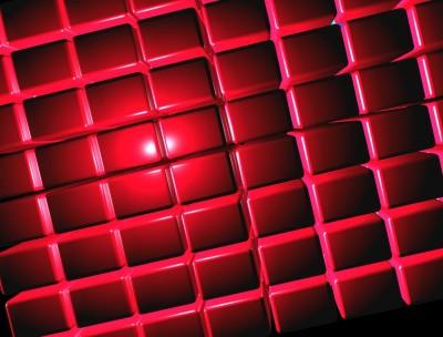 kształty , czerwone 02