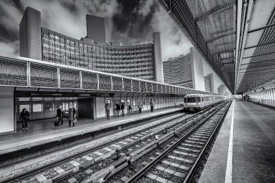 pociąg, dworzec