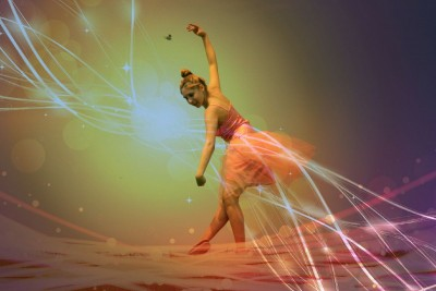 kobieta, baletnica