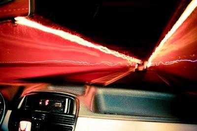 samochód, światła