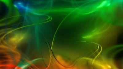 dym, światła, kolory