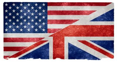flaga usa, wielka brytania