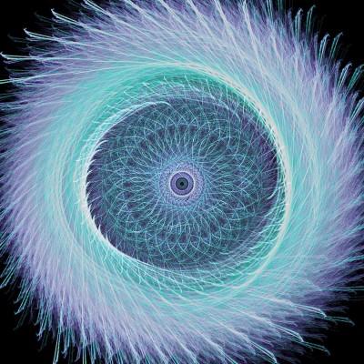 koło , abstrakcja, kolory