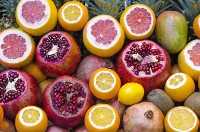 owoce, cytrusy