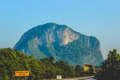 góra, krajobraz, las